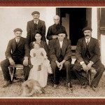 Familia Garat, propietarios de la casa Irigoian