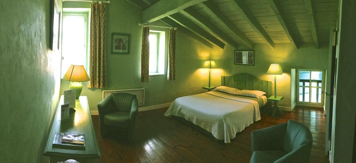 Emejing chambre verte et jaune gallery for Chambre design verte
