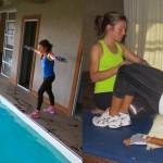 Natación y gimnasia