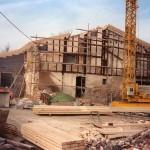 Casa Irigoian durante las obras