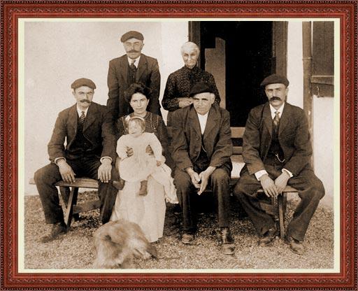 Famille Garat, propriétaires de la maison Irigoian