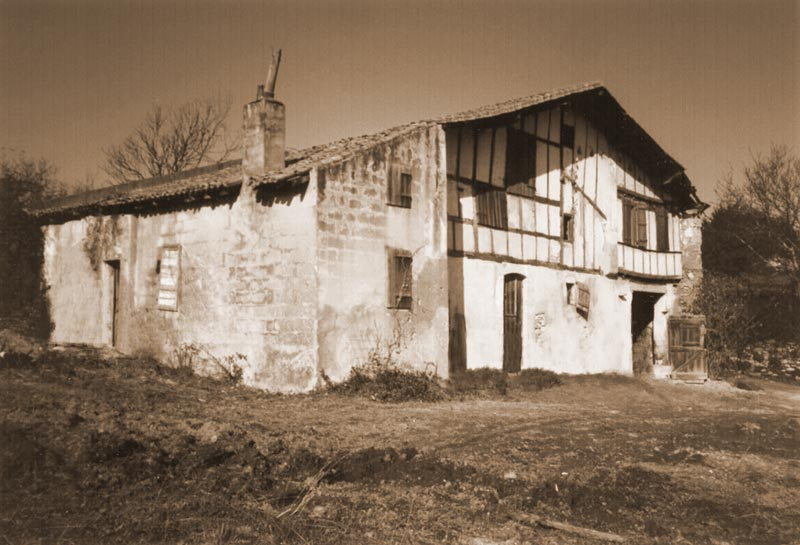 Maison Irigoian avant les travaux