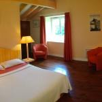 Photo de la chambre abricot en relation avec la thématique couleur d'abricot