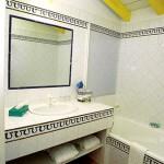Cuarto de baño de la habitación amarilla