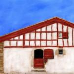 Delante de la casa Irigoian, en el siglo 17