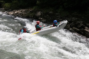 Rafting sur la Nive